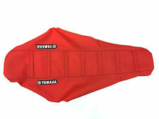 New Yamaha Red Ribbed Gripper Seat Cover WR250F WR450F 2003-06