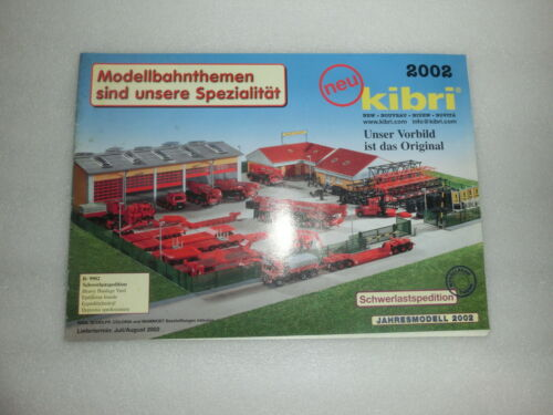 diverse Kataloge//Prospekte Kibri Neuheiten 1988 bis 2006  zur Auswahl Ord. 10