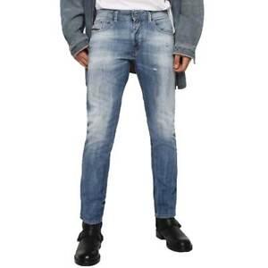 35b6c4de Diesel Thommer 081AS Slim-Skinny Fit Light Blue Jean Denim Jeans ...