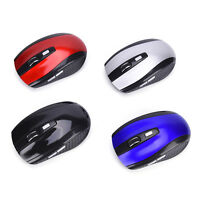 2.4GHz Wireless Optical Mouse/Mice + USB 2.0 Receiver For PC Laptop Network 10m