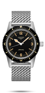 LONGINES SKIN DIVER 42MM AUTOMATIC WITH MILANESE BRACELET