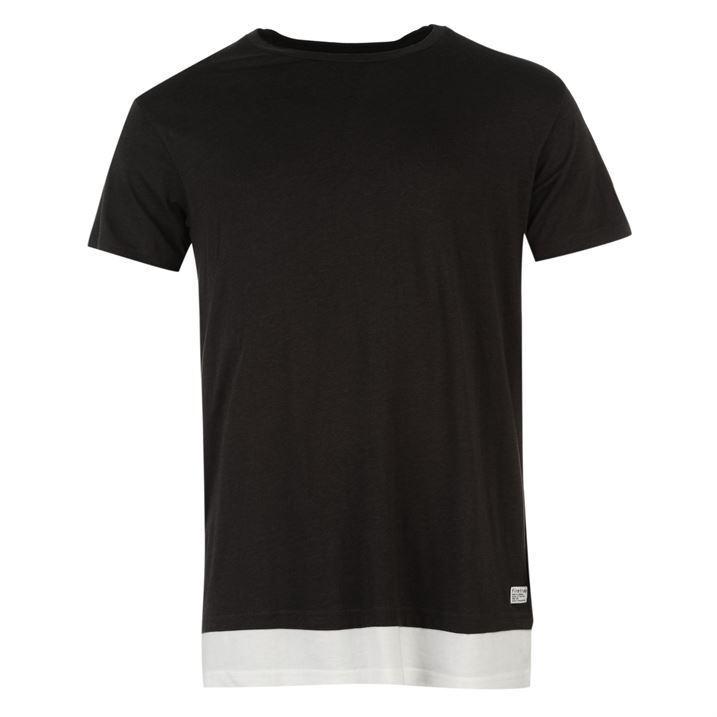 Shirt Manches Col Rond À Agnes Firetrap Gents T Homme qpnSq7w6