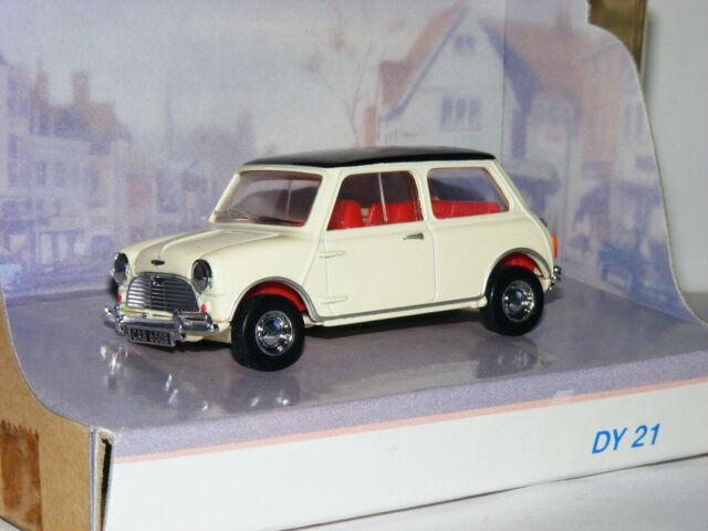 Matchdox Dinky DY-21 1964 Austin Mini Cooper S White/Black 1/43