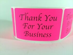 """100 2/"""" X 3/""""CAUTION DO NOT CRUSH BEND OR FOLD STICKER LABEL NEW PINK NEON LABELS"""