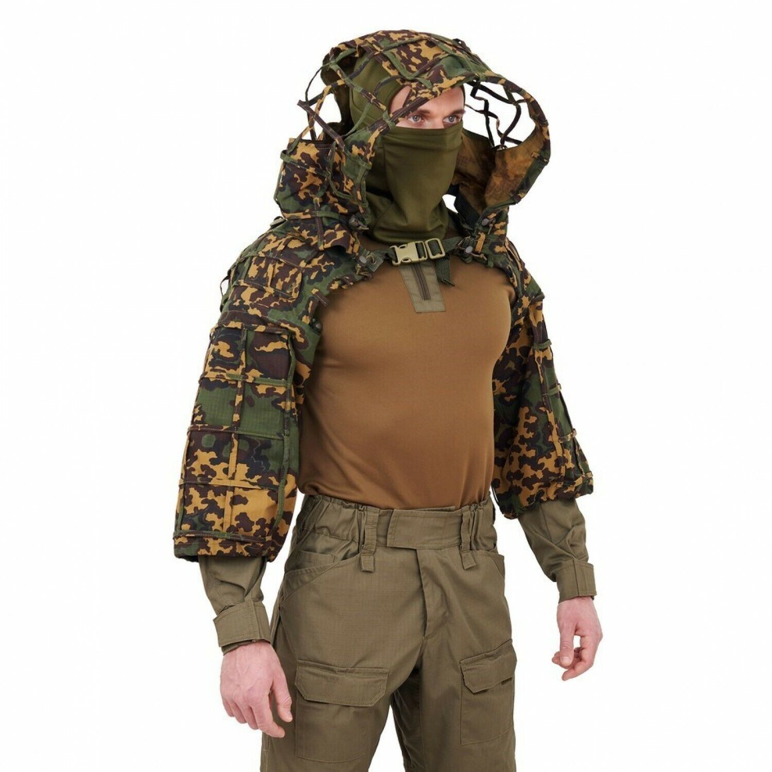 Disguise Sniper  Coat  Scorpion    Viper Hood Partizan SS-Summer by Giena Tactics  good price