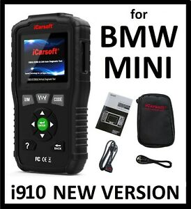 Details about Diagnostic Scanner Tool Reader Code ENGINE ABS SRS AIRBAG  LIGHT RESET Fits BMW