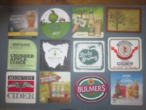 12-different-Australian-Issue-CIDER-Coasters-collectable