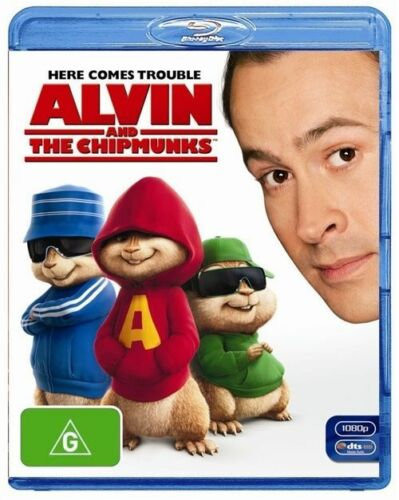 1 of 1 - Alvin And The Chipmunks - New/Sealed Blu Ray Region B