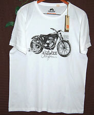 Hugo Boss White Black Graphic Design Cotton Mens T- Shirt Size 2XL Boss Orange