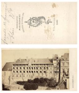 100% De Qualité Mieusement, France, Blois Le Château Cdv Vintage Albumen Carte De Visite, Tir AgréAble à GoûTer