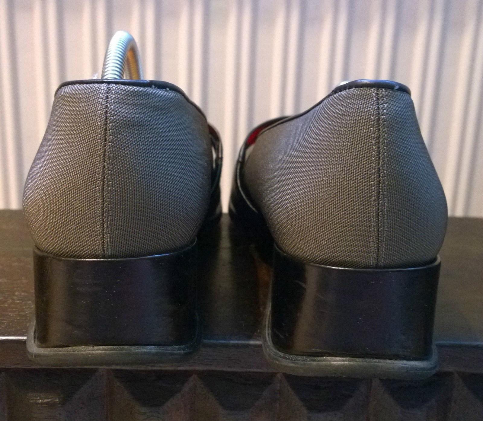 Schicke Halbschuhe AUDLEY Camel Patent grau schwarz schwarz schwarz Größe 40 TOP b3ea1c