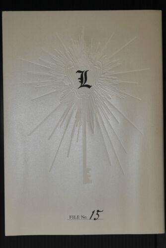 JAPAN Death Note Ken/'ichi Matsuya Photo Book L File No.15