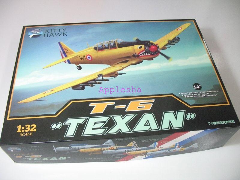 Kitty Hawk 32002 1 32 T-6 Texan  New