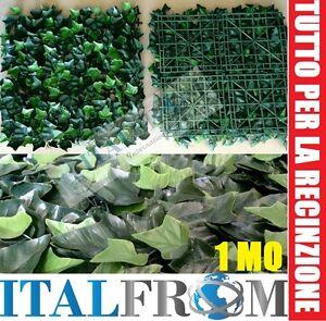 Siepe finta artificiale sintetica foglie di edera 4 for Siepe sintetica artificiale