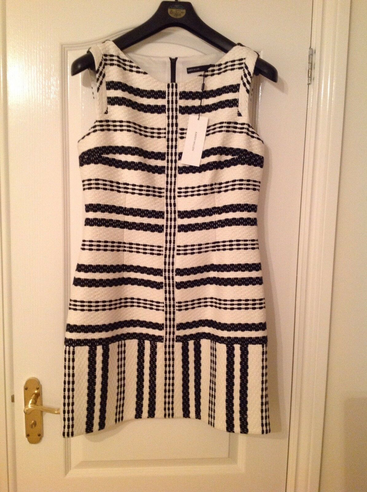 KAREN MILLEN lined Dress  s 14