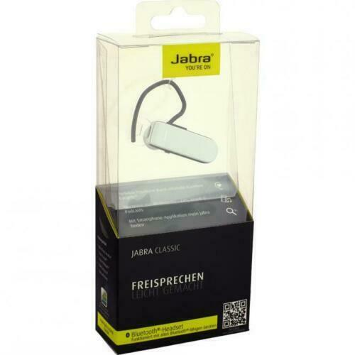 c396c5dbc41 100 Genuine Jabra Classic Wireless HD Bluetooth Headset Handsfree Black for  sale online | eBay