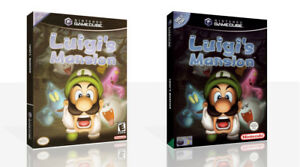 Luigi-039-s-Mansion-Reproduction-Game-Cube-Case-Box-Art-Work-Cover-No-Game