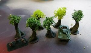 SCENERY-15mm-scale-trees-Flames-of-War-etc