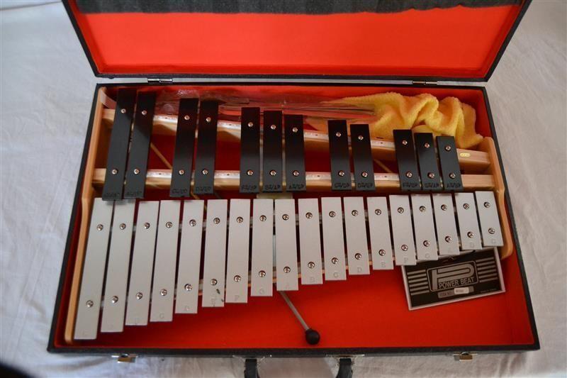Glockenspiel  -G_C  mit Halbtöne im Koffer