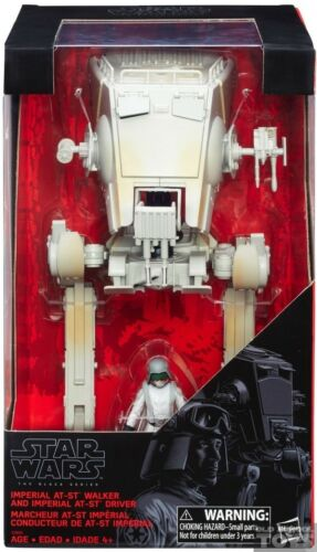 """NEW The BLACK SERIES 3 3//4/"""" IMPERIAL AT-ST WALKER W// DRIVER STAR WARS"""