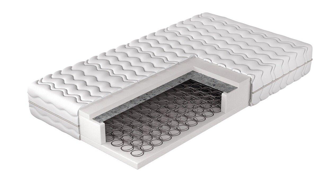 Matratze Standard Bonellfedern Komfortschaum H2 Schlafzimmer Baumwolle NEU