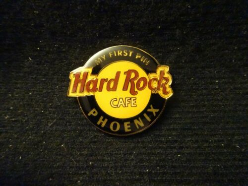 """very first edition Hard Rock Cafe pin Phoenix Classic Logo /""""My 1st first pin/"""""""