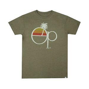 Ocean-Pacific-Sunset-Licencia-Oficial-Para-Hombre-T-Shirt-Khaki-Tallas-S-XXL