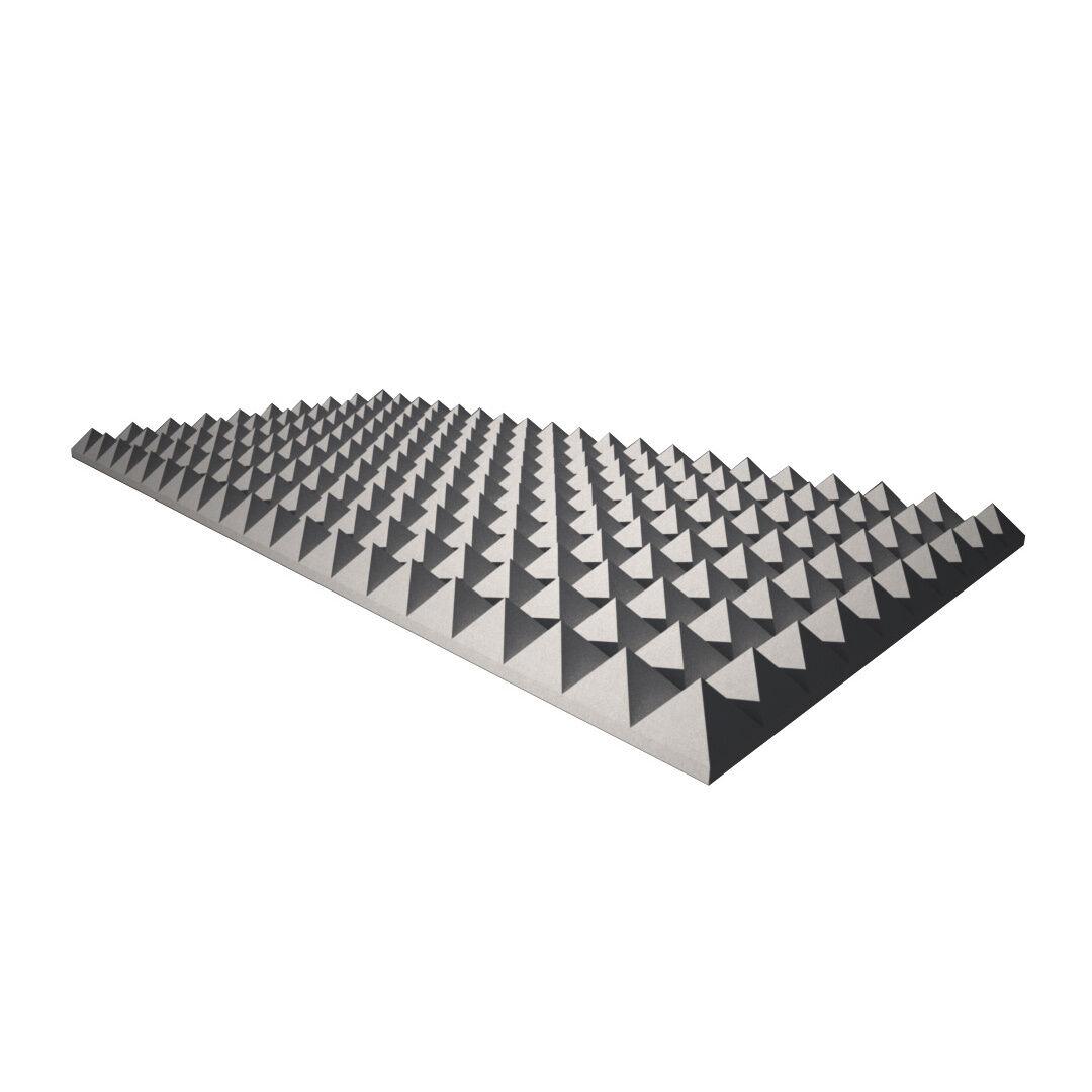 1m² Akustikschaum Dämmung Pyramidenschaumstoff Noppenschaum Acoustic foam