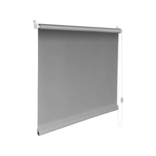 Minirollo Klemmfix Sichtschutz-Rollo Höhe 100 cm grau
