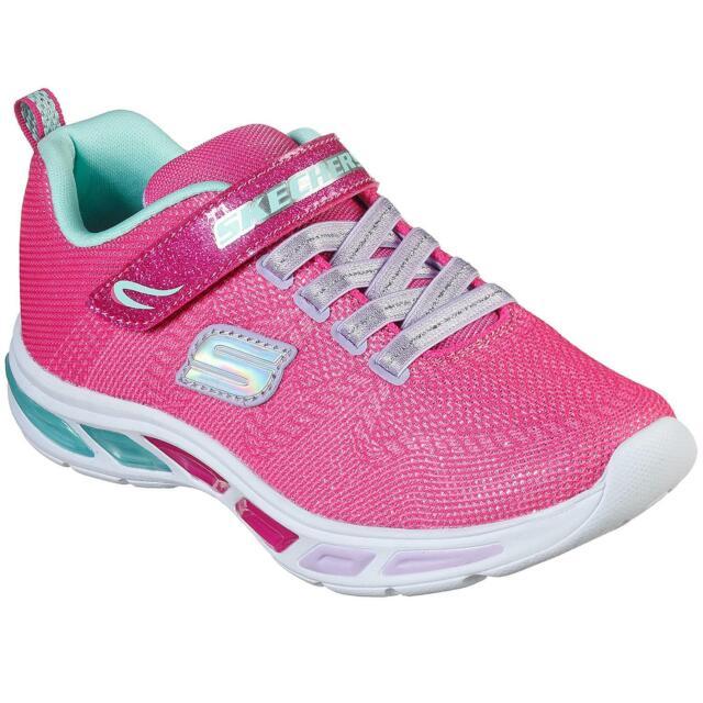 Skechers Girls Pink S Lights Light Ray
