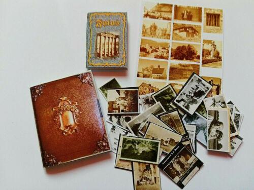 2 alte Fotobücher mit vielen Fotos Puppenstube Miniatur