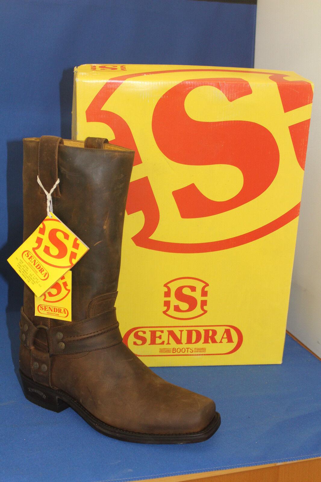 Sendra Boots  cowboystiefel westernstiefel Biker    neu leder handmade  gr. 43 385339