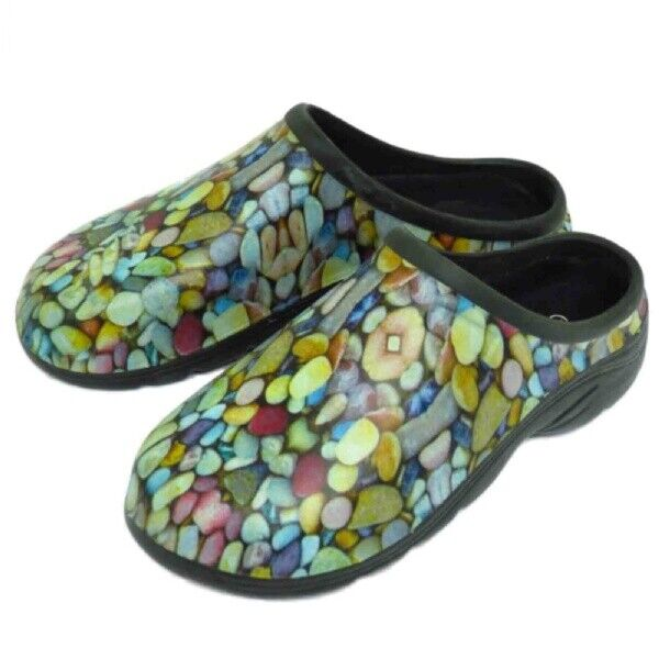 Mens Eva Slip-On Pebble Eva Garden Clogs Size 7-11
