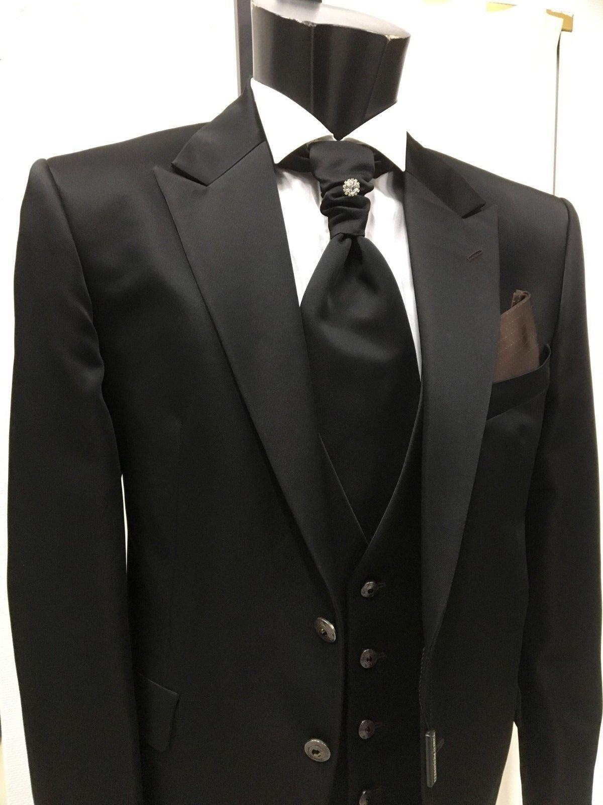 Kleid Bräutigam T.50 Unterzeichnet Carlo Pignatelli Suit Groom Hochzeit Italian Verkaufspreis Anzüge Kleidung & Accessoires