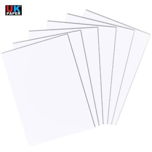 Details about A2 A3 A4 A5 A6 WHITE CARD MAKING THICK PAPER STOCK LOT ARTS  PRINTER CRAFT SHEETS