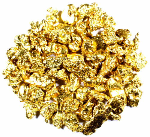 ALASKAN YUKON BC NATURAL PURE GOLD NUGGETS .300 .060 5 GRAMS HAND PICKED LOT
