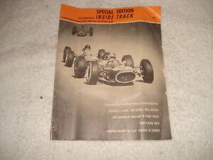Vintage 1965 Strombecker slot car inside track catalog