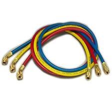 "Yellow Jacket 21985 60"", 3 Pak, Hav Standard Fitting, Plus II 1/4"" Charging Hose"