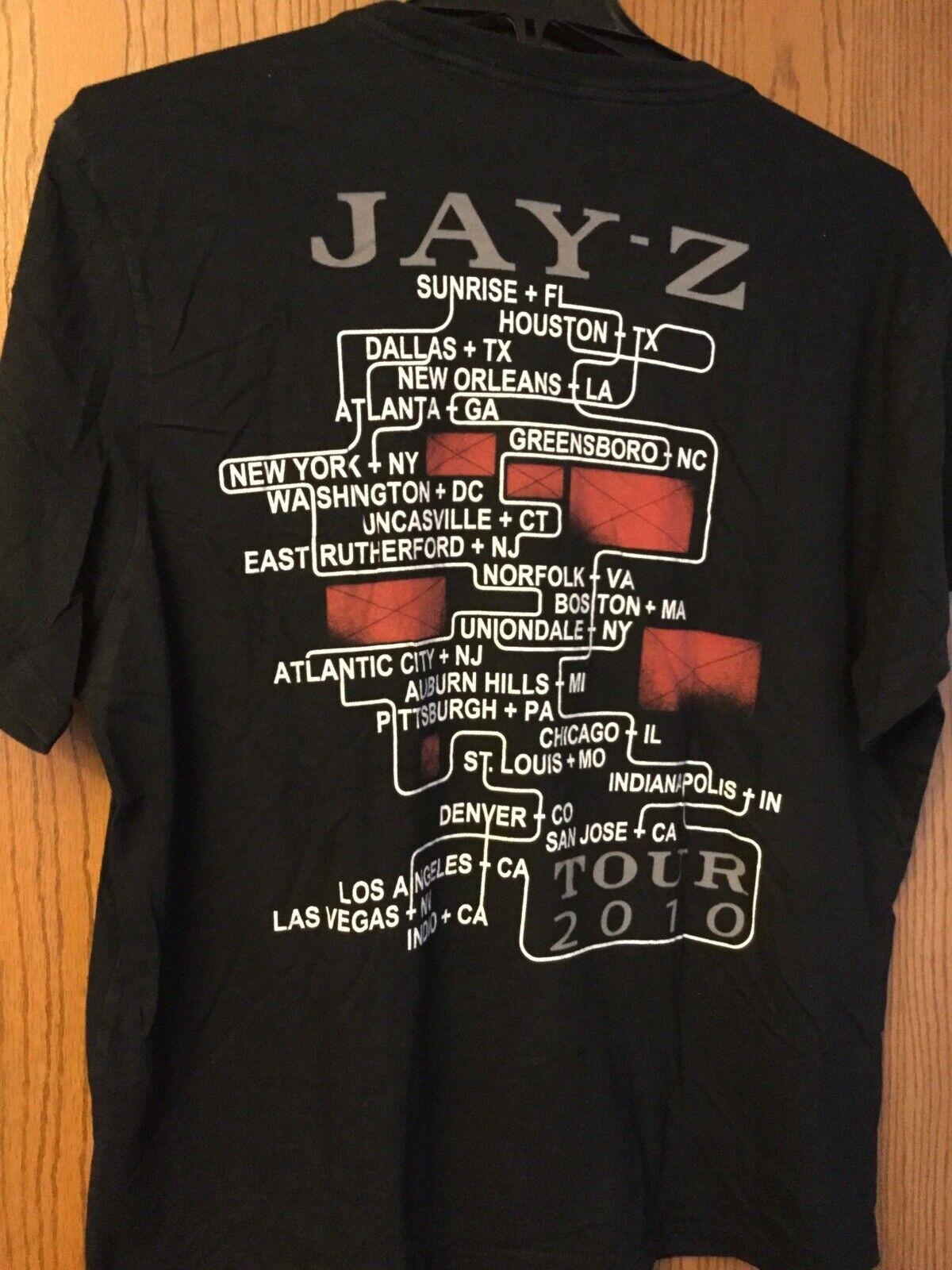 Jay Z - Tour 2010 Black Shirt.   XXL. - image 2