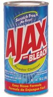 3 Pack - Ajax Cleanser, With Bleach 14 Oz (396 G) Each on sale