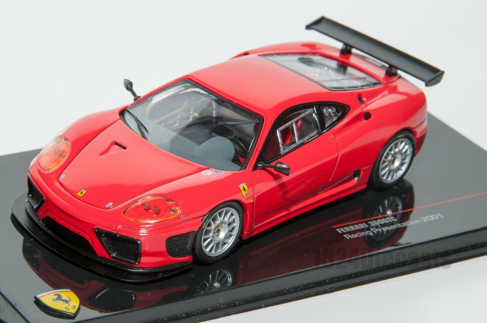 Ferrari 360 GTC Racing red, IXO FER028, scale 1 43, adult car model gift