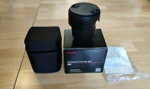 Sigma 10-20 F3 5 DC EX HSM Canon EF-S Occasion