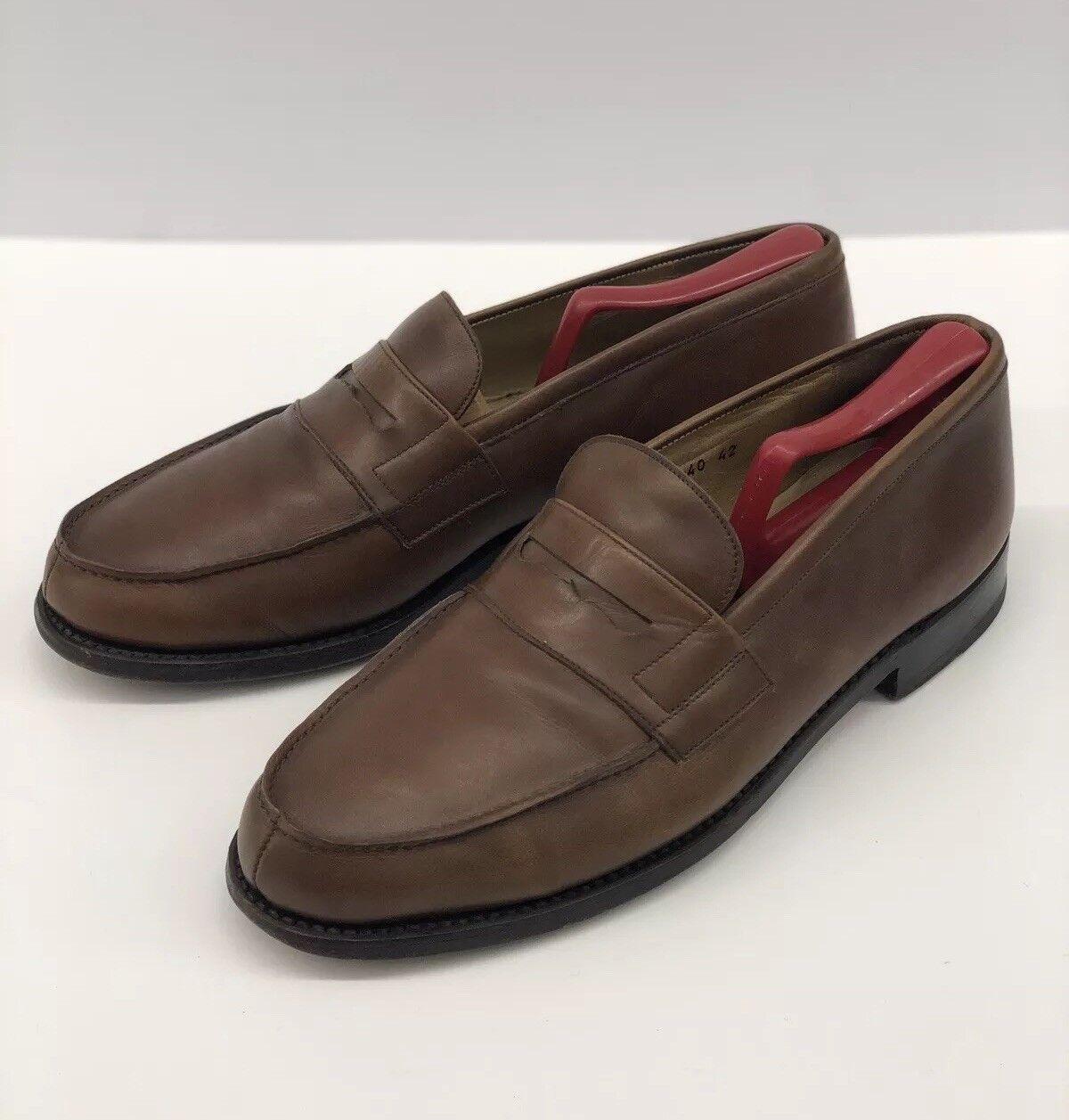 Oxfords marrón Mocasín Goodyear PARAbota Cuero Zapatos para hombre  8 UK 9 US