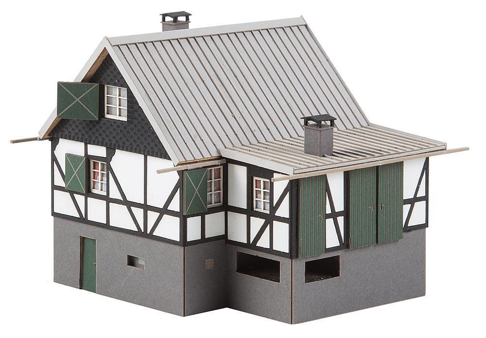 Waldhütte, Faller Bausatz Miniaturwelten H0 H0 H0 (1 87), Art. 130570 9aed40