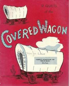 12-Quilts-of-the-Covered-Wagon-Vintage-Paperback-Booklet-w-Instructions