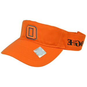 NCAA-Oklahoma-State-Cowboys-Visor-Hat-Adjustable-Curved-Bill-Top-of-World