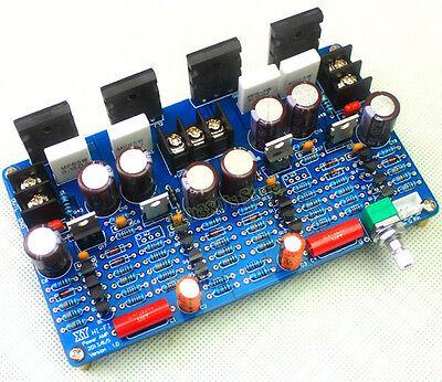 100Wx2 New HIFI Audiophile Grade Fully Symmetrical Power Amplifier Board DIY Kit