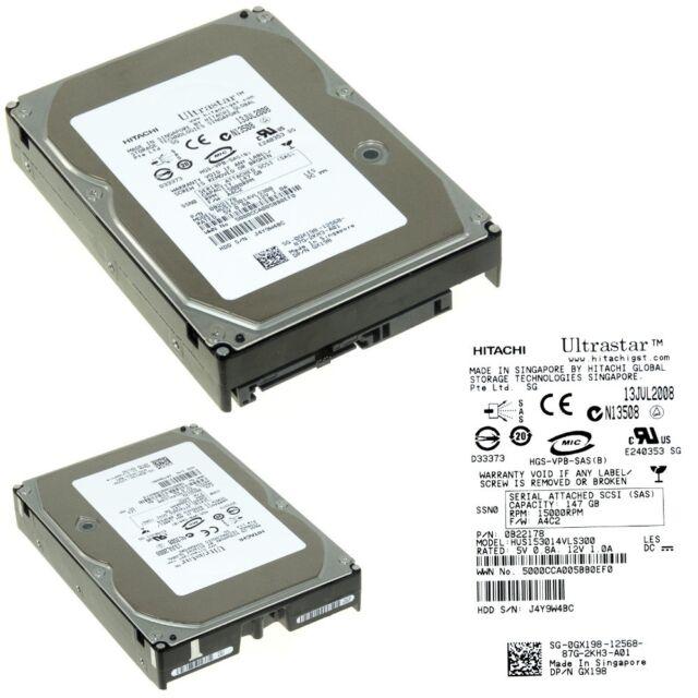 Dell GX198 146gb 15k Sas 3.5 Hdd