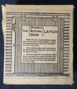 ANTIQUE-DOUBLE-ACTING-DOOR-LATCH-OR-D-A-D-LATCH-WITH-ORIGINAL-BOX