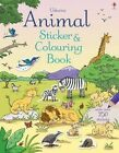 Animal Sticker and Colouring Book by Usborne Publishing Ltd (Paperback, 2014)